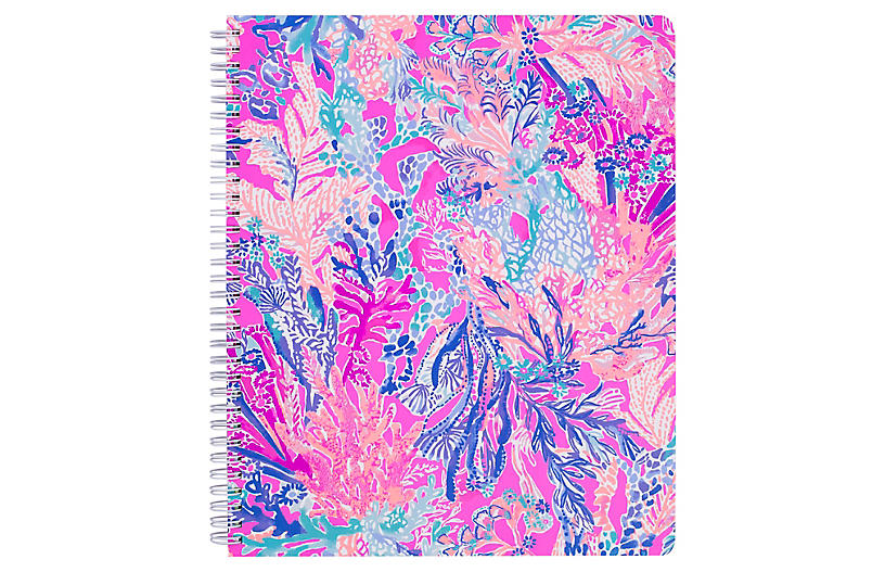 Aquadesiac Notebook, Blue/Multi