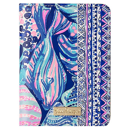 Scale Up Passport Cover, Blue/Multi