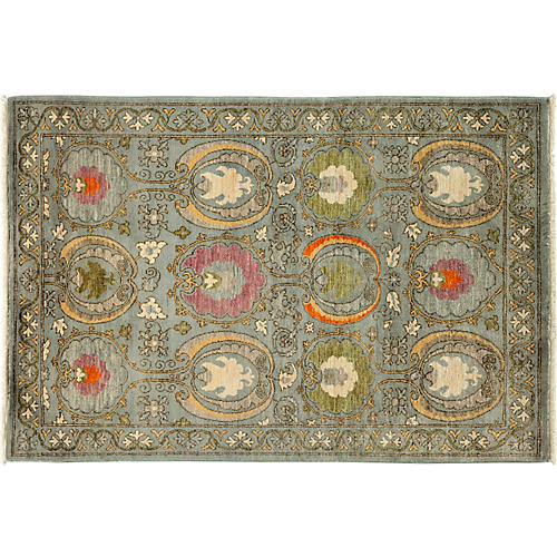 "4'3""x6'1"" Mayra Rug, Gray/Multi"