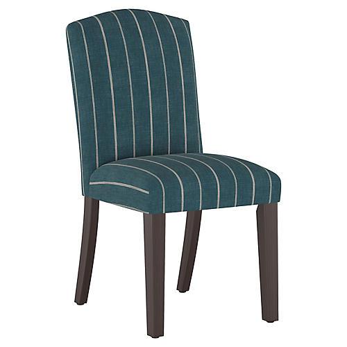 Marie Side Chair, Fritz Indigo