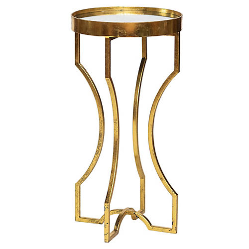 Ella Side Table, Gold