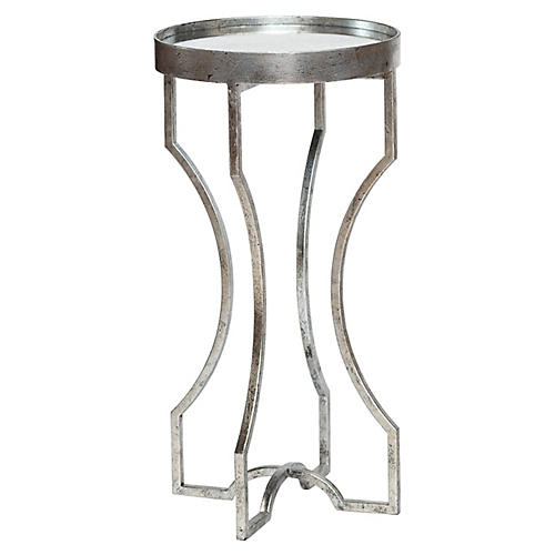 Ella Side Table, Silver