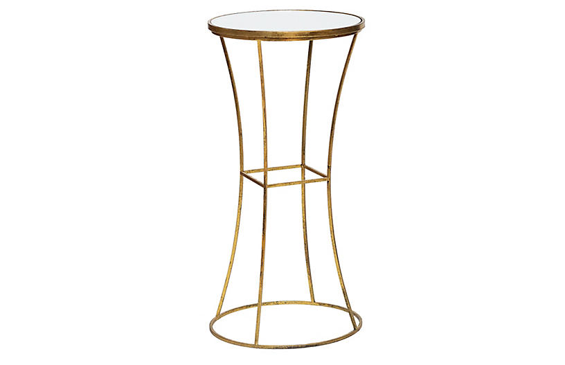 Joanie Side Table, Gold