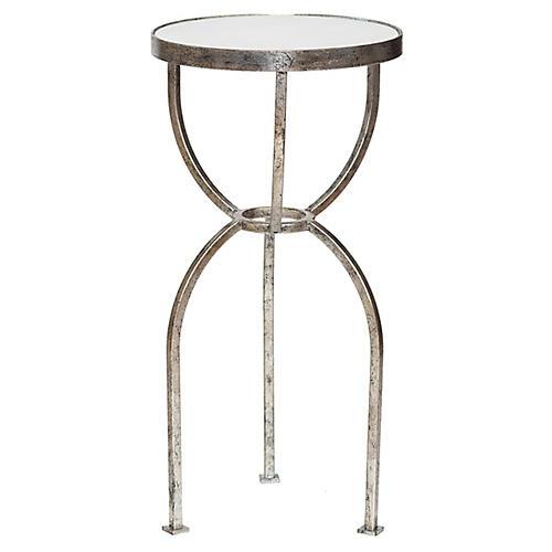 Arik Side Table, Silver