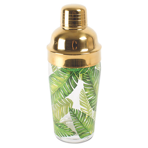 Botanical Shaker, Green/Gold