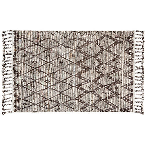 York Hand-Knotted Rug, Stone