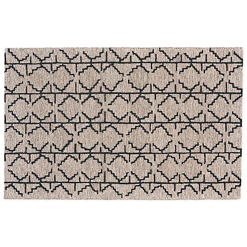 Salinas Rug, Charcoal/Gray