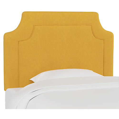 Morgan Kids' Headboard, Mustard Linen