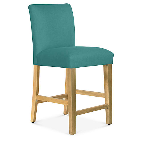 Shannon Counter Stool, Teal