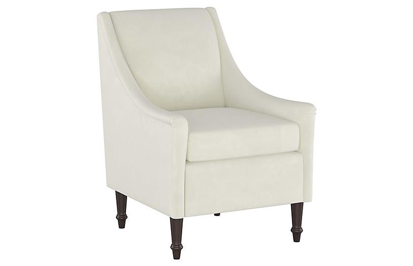 Holmes Accent Chair, Cream