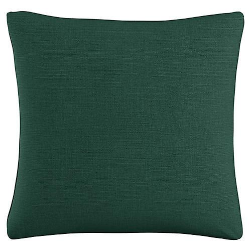 Zett 20x20 Pillow, Forest Linen