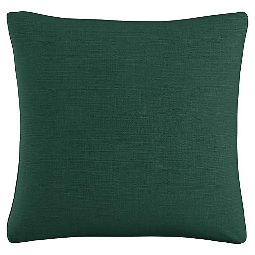 Zett 20x20 Pillow, Forest Linen