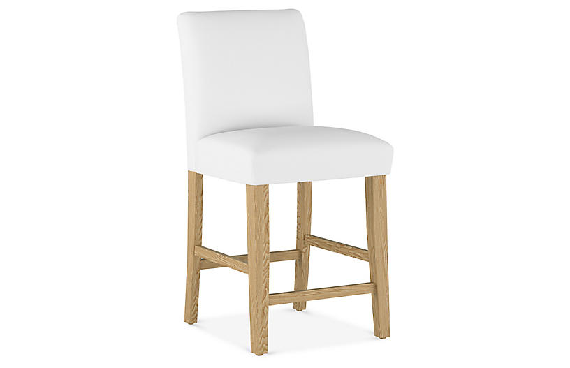 Shannon Counter Stool, White