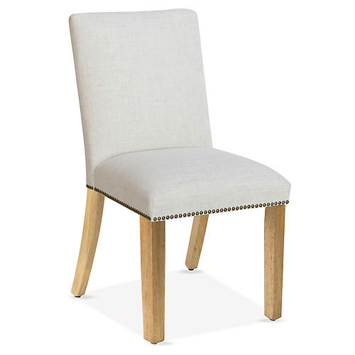 Kean Side Chair, Talc