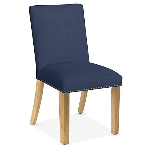 Kean Side Chair, Navy