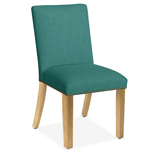 Kean Side Chair, Teal