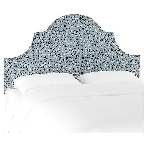 Hedren Headboard, Blue