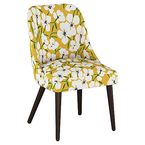 Barron Side Chair, Marigold Floral