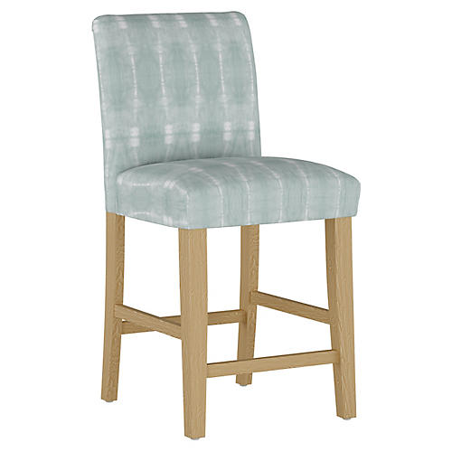 Shannon Counter Stool, Mist/White