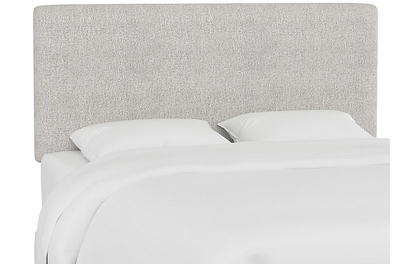 Novak Headboard, Platinum Gray