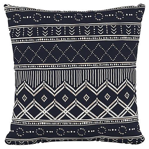 Kuba 20x20 Pillow, Black