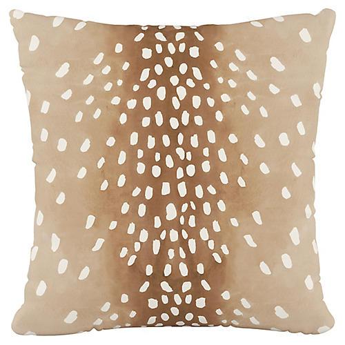 Winston 20x20 Pillow, Fawn Natural