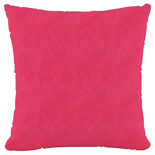 Olivia 20x20 Pillow, Fuchsia