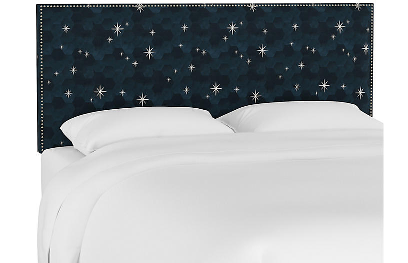 Loren Headboard, Starlight Blue