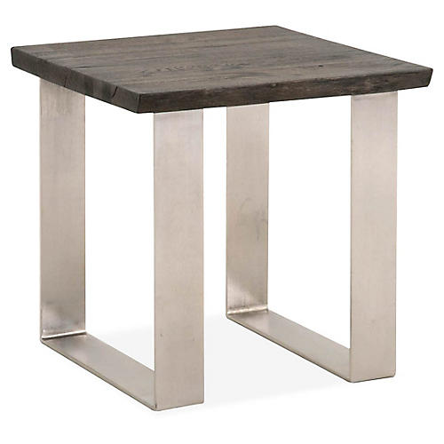 Sodo Side Table, Brushed Charcoal