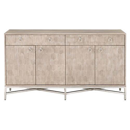 Byrd Sideboard, Natural Gray