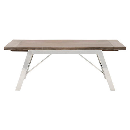 Colt Dining Table, Natural Gray