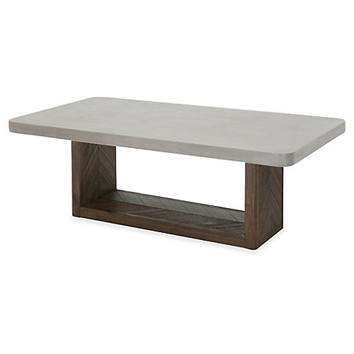 Apex Coffee Table, Slate Gray
