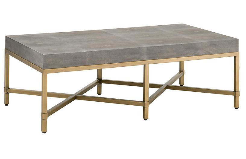 Strand Coffee Table, Gray