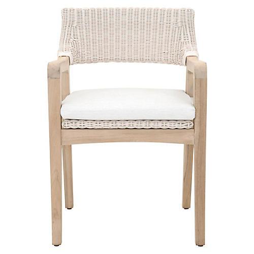 Lucia Outdoor Armchair, Tan