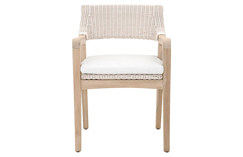 Lucia Outdoor Armchair, Tan