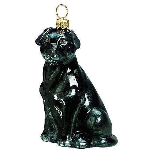 Hallsey Labrador Retriever Ornament, Black