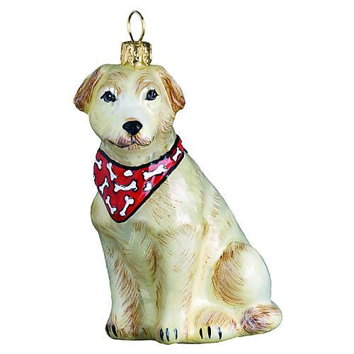 Molly Labrador Retriever Ornament, Yellow
