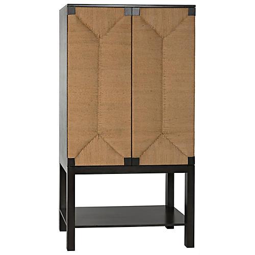 Kira Tall Cabinet, Black