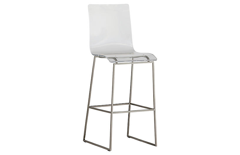 King Barstool, Clear
