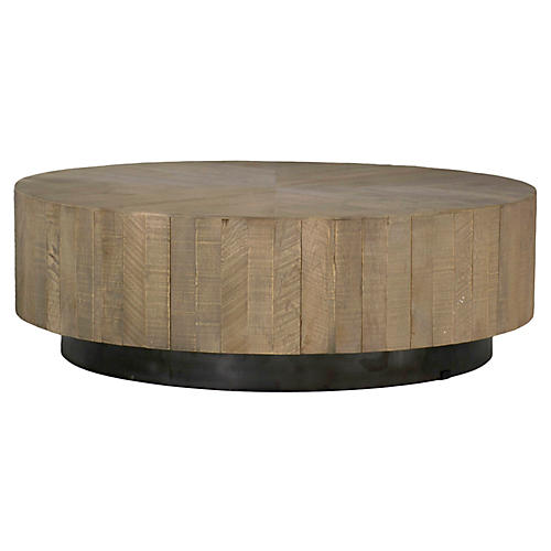Colton Coffee Table, Charcoal Oak