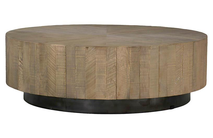 Colton Coffee Table, Charcoal Oak