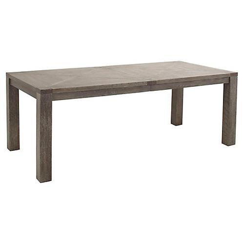 Beckett Dining Table, Dark Gray