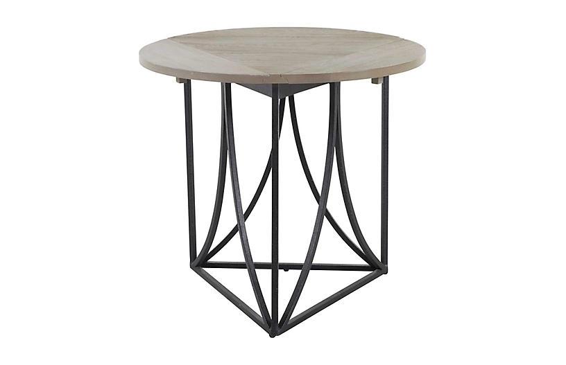 Odessa Folding Cricket Table, Gray
