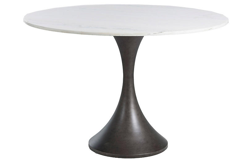 Cortez Bistro Table, White