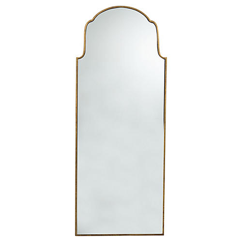 Pauline Wall Mirror, Gilded Gold