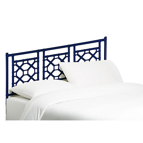 Lattice Headboard, Navy