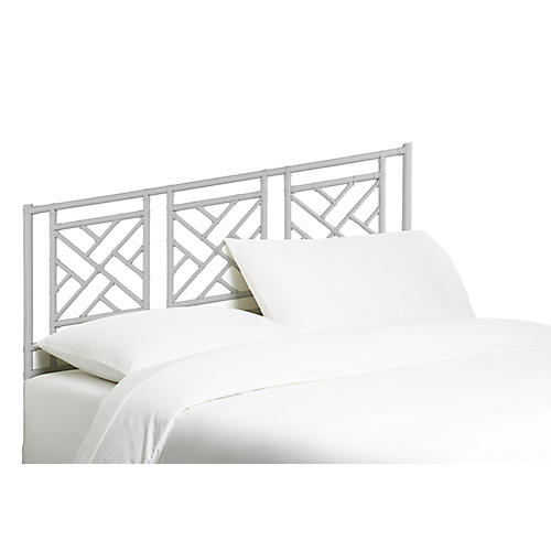 Chippendale Kids' Headboard, White