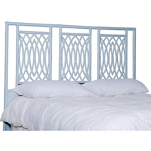 Beckham Headboard, Light Blue