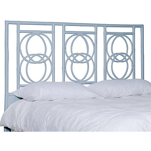 Emmerson Headboard, Light Blue