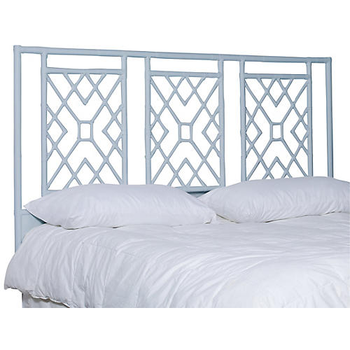 Camden Headboard, Light Blue